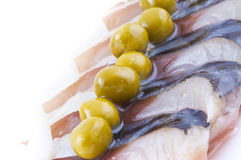 Marinaded herring Stock Image