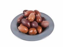 Marinaded Olives Stock Image