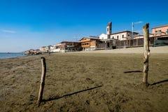 MARINADI PISA, ITALIEN - Avril 24, 2017: Sikt av havet och royaltyfri bild