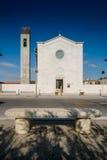 MARINADI PISA, ITALIEN - Avril 24, 2017: Sikt av kyrkan, Mari royaltyfri foto