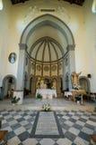 MARINADI PISA, ITALIEN - Avril 24, 2017: Sikt av kyrkan, Mari arkivfoto