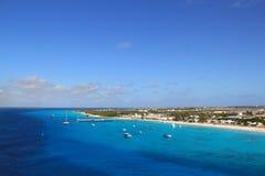 Marinafjärd på ön Royaltyfri Foto