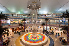 Marinagalleria i Abu Dhabi Fotografering för Bildbyråer