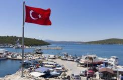 Marinaio di Sigacik - Smirne - Turchia Immagini Stock