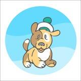 Marinaio dolce del cucciolo Immagini Stock Libere da Diritti