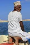 Marinaio nell'Oman Immagini Stock Libere da Diritti