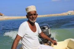 Marinaio nell'Oman Fotografia Stock