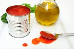 Marinara Sauce Ingredients Royalty Free Stock Photography