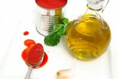 Marinara Sauce Ingredients Royalty Free Stock Photo