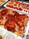Marinate meat sauce Stock Photography
