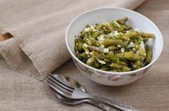 Marinated зеленые фасоли Стоковое Фото