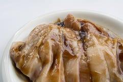 Marinated концепция ингридиентов anima мяса свиной отбивной Стоковое фото RF