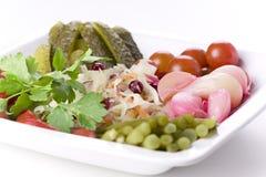 marinated овощи Стоковое фото RF