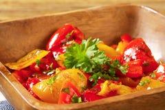 marinated перцы Стоковая Фотография