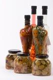 marinated плодоовощами овощи грибов Стоковое Изображение