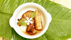 Marinated свинина с меню соуса чеснока и перца Стоковое фото RF