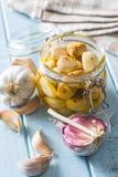 marinated чеснок замаринованный чеснок Стоковое Изображение