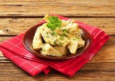 Marinated artichoke hearts Stock Photos