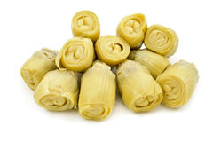 Marinated artichoke hearts Stock Images