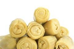 Marinated artichoke hearts Royalty Free Stock Photo