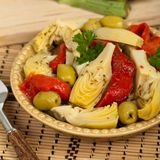 Marinated Artichoke Salad Royalty Free Stock Images