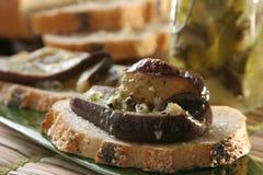 marinated aubergines Стоковая Фотография