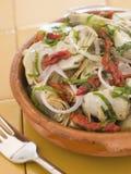 Marinated Baby Artichokes Tomato Vinaigrette Royalty Free Stock Image
