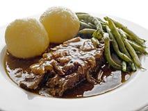 Marinated beef Royalty Free Stock Image