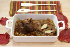Marinated beef Royalty Free Stock Photography