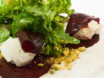 Marinated beetroot salad Stock Image