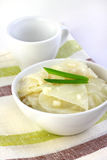 Marinated cabbage with garlic Royalty Free Stock Image