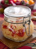 Marinated cabbage (sauerkraut) Royalty Free Stock Photo