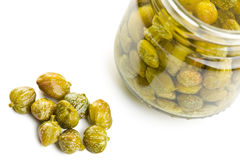 Marinated capers Royalty Free Stock Photography