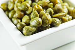 Marinated capers Royalty Free Stock Photos