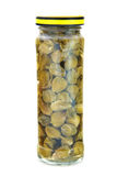 Marinated capers isolated Stock Photo