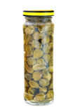 Marinated capers isolated Royalty Free Stock Photo