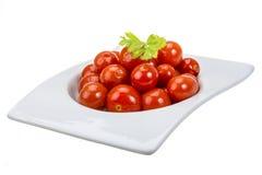 Marinated cherry tomato Royalty Free Stock Image