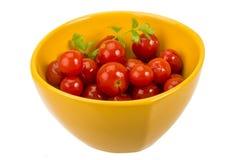 Marinated cherry tomato Royalty Free Stock Photo