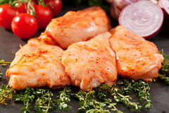 Marinated Chicken Breast Royalty Free Stock Image