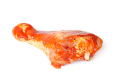 Marinated chicken leg Royalty Free Stock Images