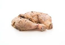 Marinated chicken thigh Stock Image