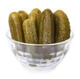 Marinated cucumbers Stock Photography