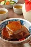Marinated dried tofu Stock Images