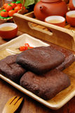 Marinated dried tofu Royalty Free Stock Photos
