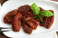 Marinated dried tomatoes Stock Image