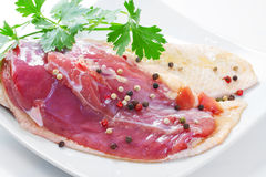 Marinated duck fillet Royalty Free Stock Photos