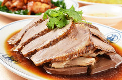 Marinated Duck Meat Royalty Free Stock Photo