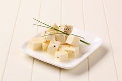 marinated feta сыра стоковая фотография rf