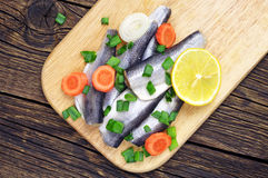 Marinated fish royalty free stock images