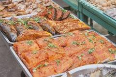 Marinated fish Royalty Free Stock Photo